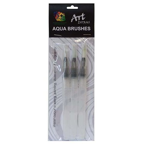 ART EXTRA AQUA BRUSHES SET OF 3