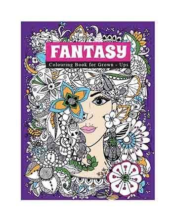 ADULT COLOURING BOOK FANTASY