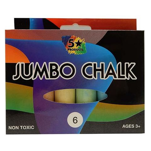 CHALK JUMBO FSP 6PC
