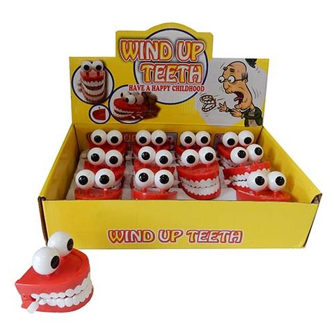 WIND UP TEETH WITH EYES