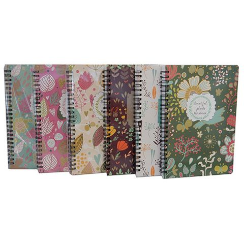 NOTEBOOK BEAUTIFUL PLANTS A5