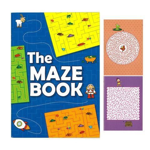 MAZE ACTIVITY BOOK 32PG