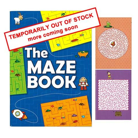 MAZE ACTIVITY BOOK 32PG