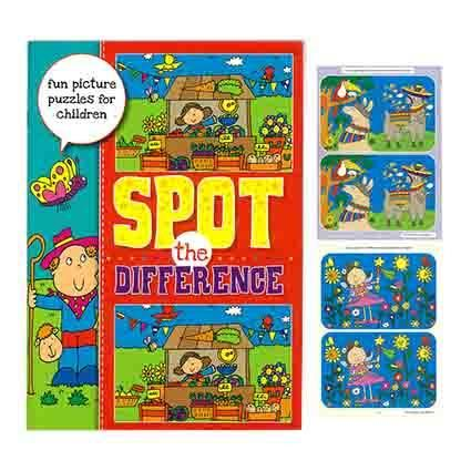SPOT THE DIFFERENCE BOOK 32PG