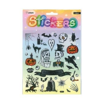 UPIKIT STICKER HALLOWEEN SKELETONS