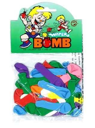 WATER BOMB BALLOONS 7.5CM 35PC^