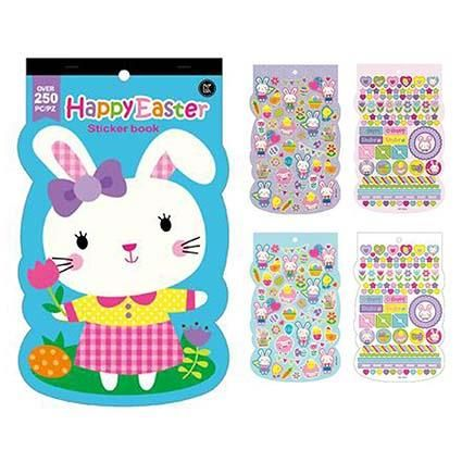 STICKER PAD EASTER BUNNY