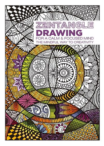 ADULT COLOURING BOOK ZENTANGLE