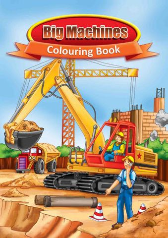 COLOURING BOOK BIG MACHINES