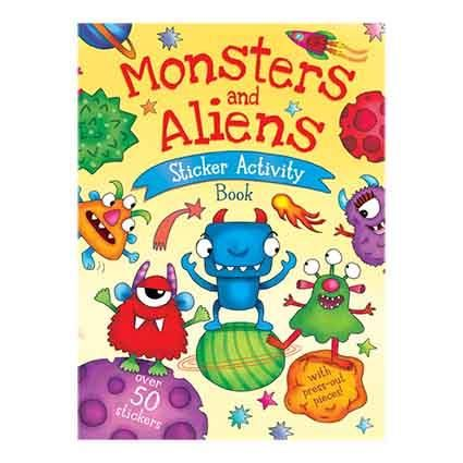 ACTIVITY BOOK MONSTER & ALIENS 16PG