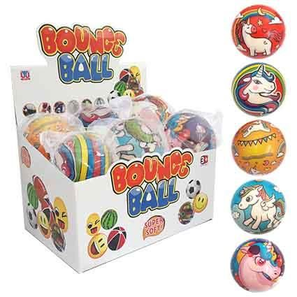 BALL UNICORN BOUNCE 10CM