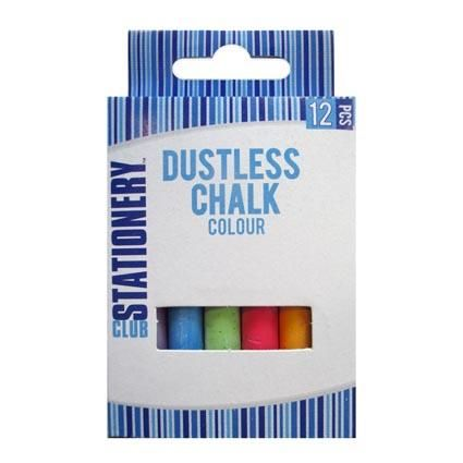 CHALK COLOURED 12PC