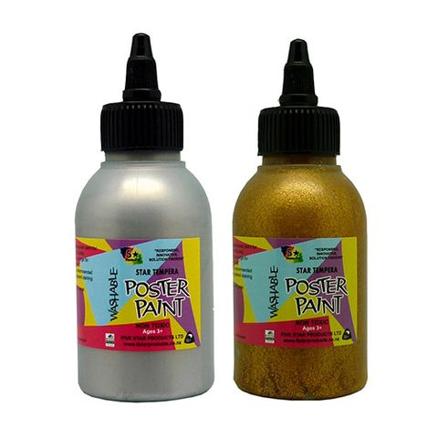 STAR TEMPERA GLITTER 125 ML