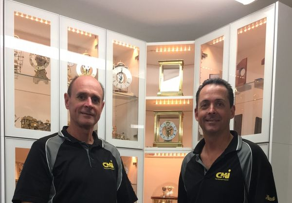 Jeff and Rod at CMI