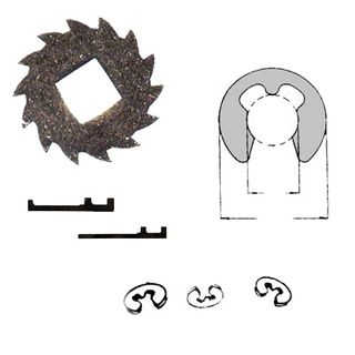 RETURN SPRINGS,E-CLIPS,WASHERS