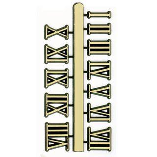 Numerals 12mm Roman