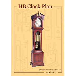 Clock Plan 917 HB Design suits W.00451, W.01151