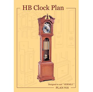 Clock Plan 918 HB Design suits W.00451, W.01151