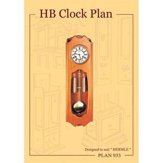 Clock Plan 933 HB Design for Vienna W.00351