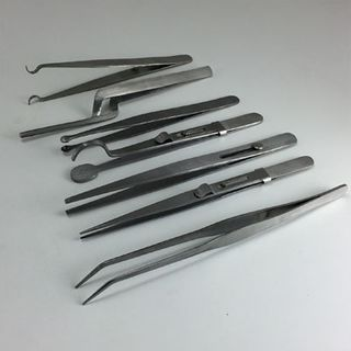 Quality Jewellers Tweezers (7 pack)
