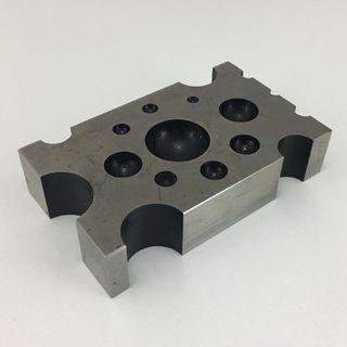 Dapping Dye Steel Design Block