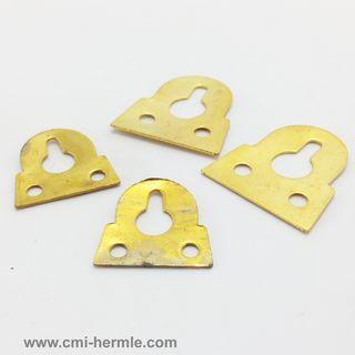 Brass Hangers 2 Sizes (4 pack)