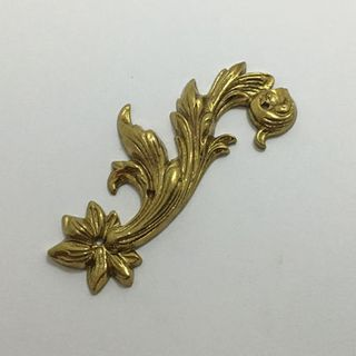 Polished Brass Leafs - Matched Pair