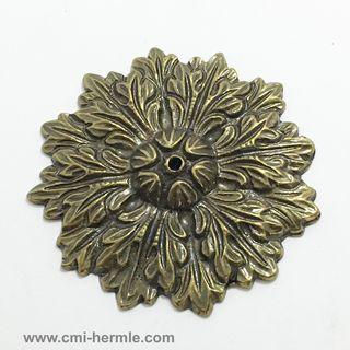 Bronze Brass Rosette 45mm Diameter