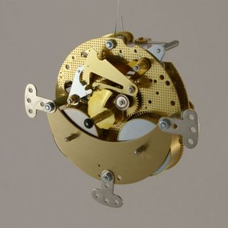 1/2Hr Strike Spring Bells Rear / 2 Jewel