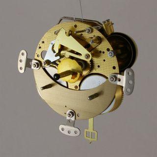 1/2Hr Strike Spring 18cm Pendulum