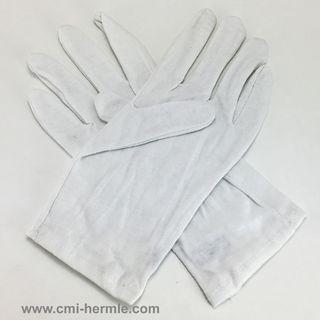 Hermle White Cotton Gloves