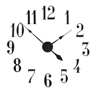 Large Diameter Wall Clock Kit