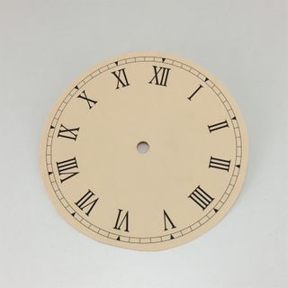 Cream Card Dial 150mm Roman