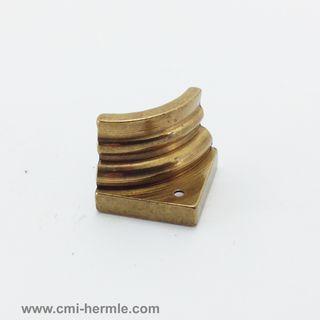 Polished Brass Quarter Column 15mm x15mm