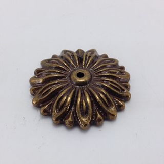 Bronze Brass Rosette 25mm Diameter
