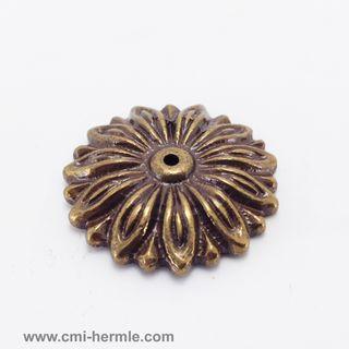 Bronze Brass Rosette 35mm Diameter
