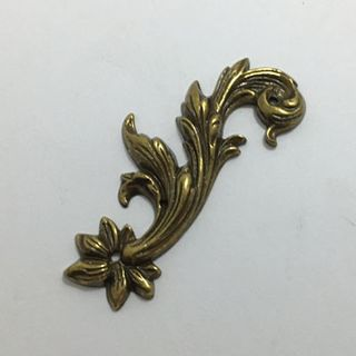 Bronze Brass Leafs - Matched Pair