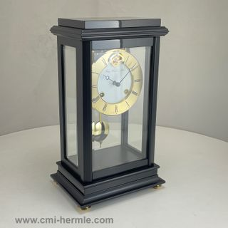 Marsais - Table Clock in Black