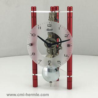 Lakin - Table Clock Red Arabic