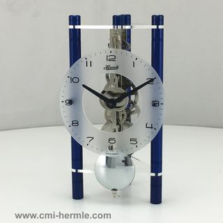 Lakin - Table Clock Blue Arabic