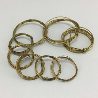 Assorted Brass Tension Wire ( 8 pack )