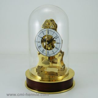 Bonnie Mechanical Dome Clock Brass