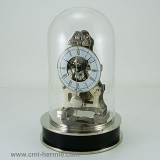 Clyde Mechanical Dome Clock Nickel