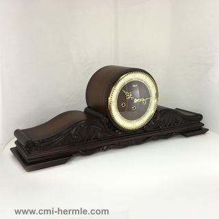 Queensway - Mantle Clock in Walnut