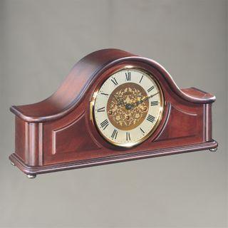Acton - Mantle Clock in Mahogany