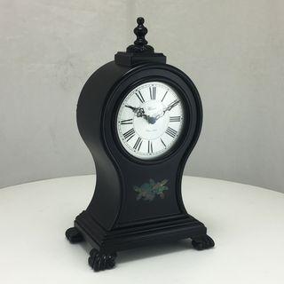 Oak Ridge - Table Clock in Black