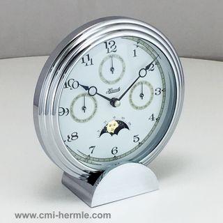 Stockton II - Design Clock in Chrome