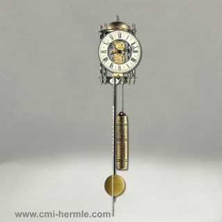Lester - Wrought Iron Wall Clock