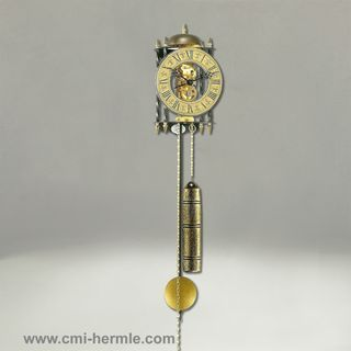 Stamford - Wrought Iron Wall Clock