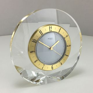 Jaccard Shell Clock Gold